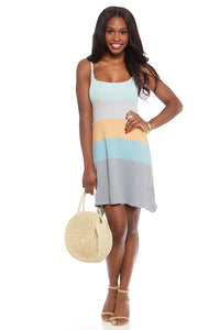 fab'rik - Kelly Knit Color Block Dress ProductImage-7583514099770