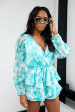 Load image into Gallery viewer, Valencia Ruffle Romper