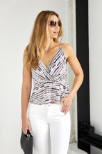 Load image into Gallery viewer, SALE - Avie Print Peplum Top
