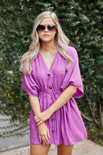 Load image into Gallery viewer, SALE - Arlo Button Down Cinch Waist Dress