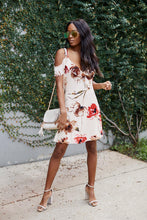 Load image into Gallery viewer, SALE - Sloane Floral Print Ruffle Detail Mini Dress