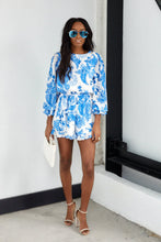 Load image into Gallery viewer, Finnley Floral Long Sleeve Romper