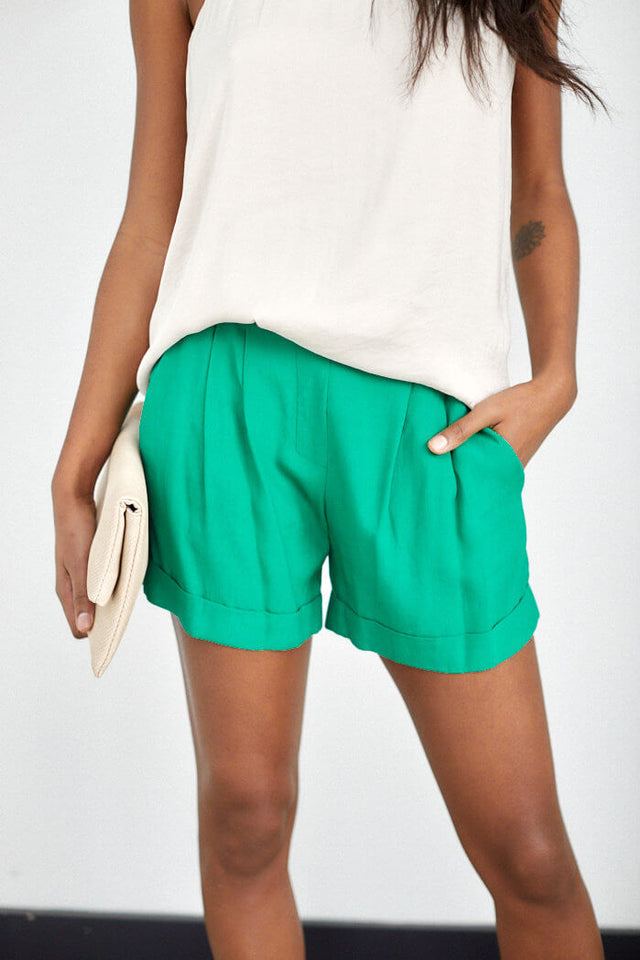 Catalina Trouser Style Shorts