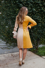 Load image into Gallery viewer, Ailyn Pleated Two Tone Dress