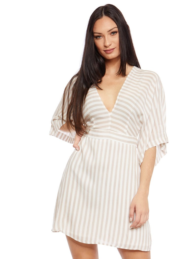 fab'rik - Nadya Stripe Kimono Dress ProductImage-7531282497594