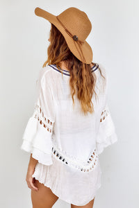 Lara Embroidered Cover Up