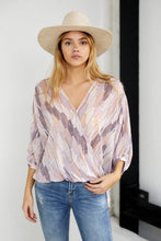 Load image into Gallery viewer, Preston Wrap Long Sleeve Top