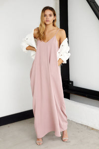 Luna Sleeveless Maxi Dress