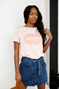 Speak Only With Love Graphic Tee