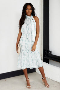 fab'rik - Wrigley High Neck Snake Print Midi Dress ProductImage-13690582761530
