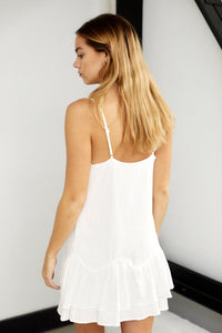SALE - Jennings Ruffle Detail Sleeveless Dress