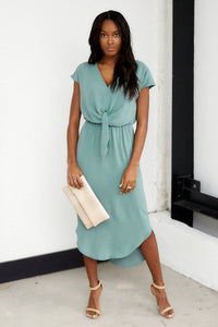 Rylie Tie Front Dress