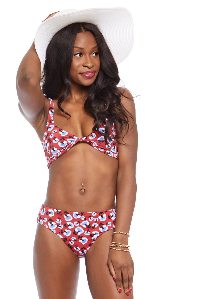 fab'rik - Daisy Printed Bikini Bottoms ProductImage-7583510167610