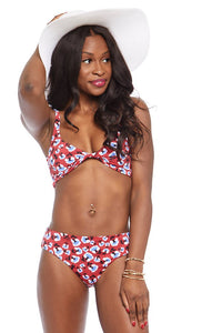 fab'rik - Daisy Printed Bikini Bottoms ProductImage-7583510069306