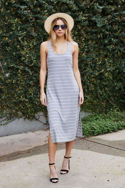 fab'rik - Z Supply Seri Stripe Rib Tank Dress image thumbnail