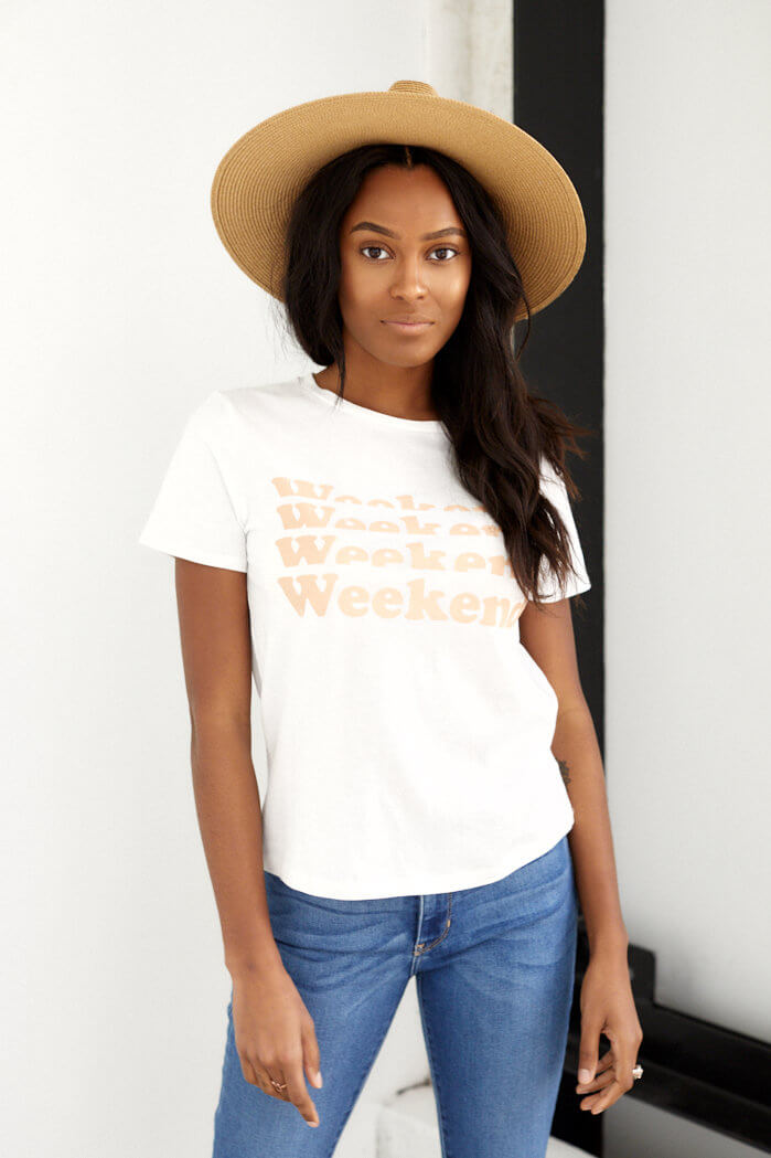 fab'rik - Weekend Graphic Tee ProductImage-13703455572026