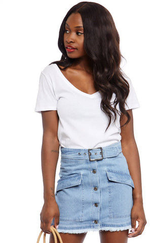 Jack by BB Dakota Dream of Jeanie Denim Skirt