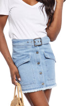 Load image into Gallery viewer, Jack by BB Dakota Dream of Jeanie Denim Skirt