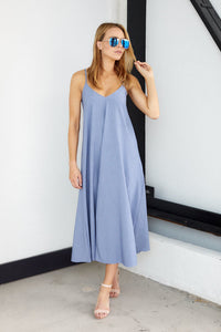 Bloom Tie Back Maxi Dress