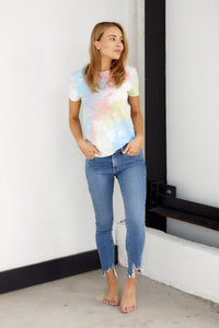 Emerson Distressed Tie-Dye Knit Top