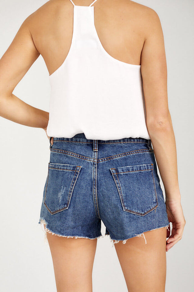 PreOrder Blank NYC After Shock Cut Off Shorts
