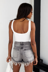SALE - Mila Deep Back Bodysuit