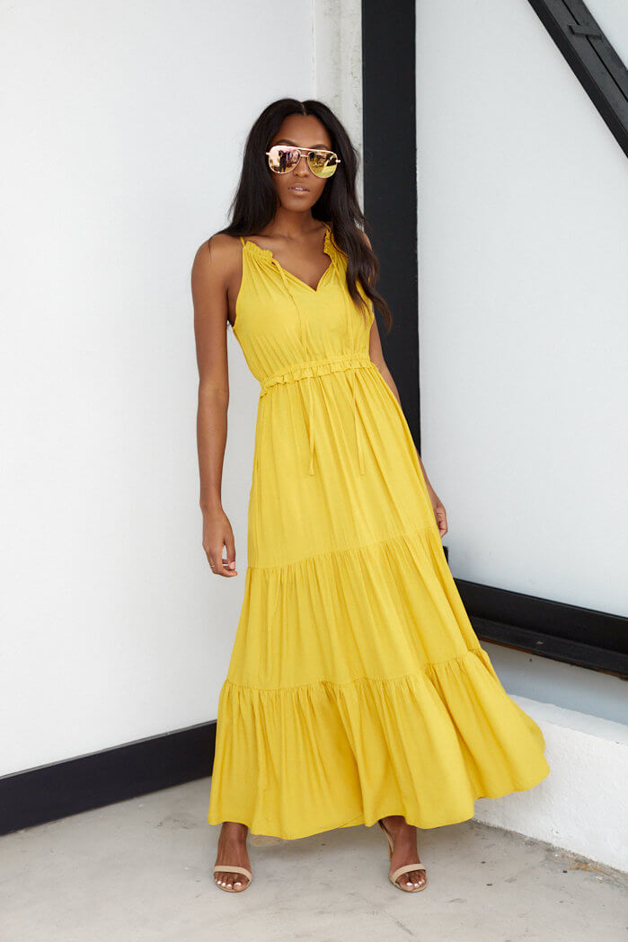 fab'rik - Kenley Tiered Sleeveless Maxi ProductImage-13713199497274
