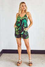 Load image into Gallery viewer, Vivien Palm Printed Romper