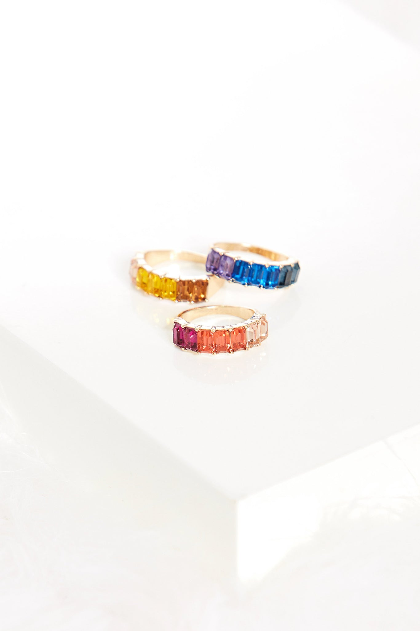 fab'rik - Rainbow Crystal Ring ProductImage-7744069697594