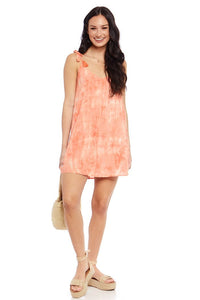 Ina Tie Dye Mini Dress