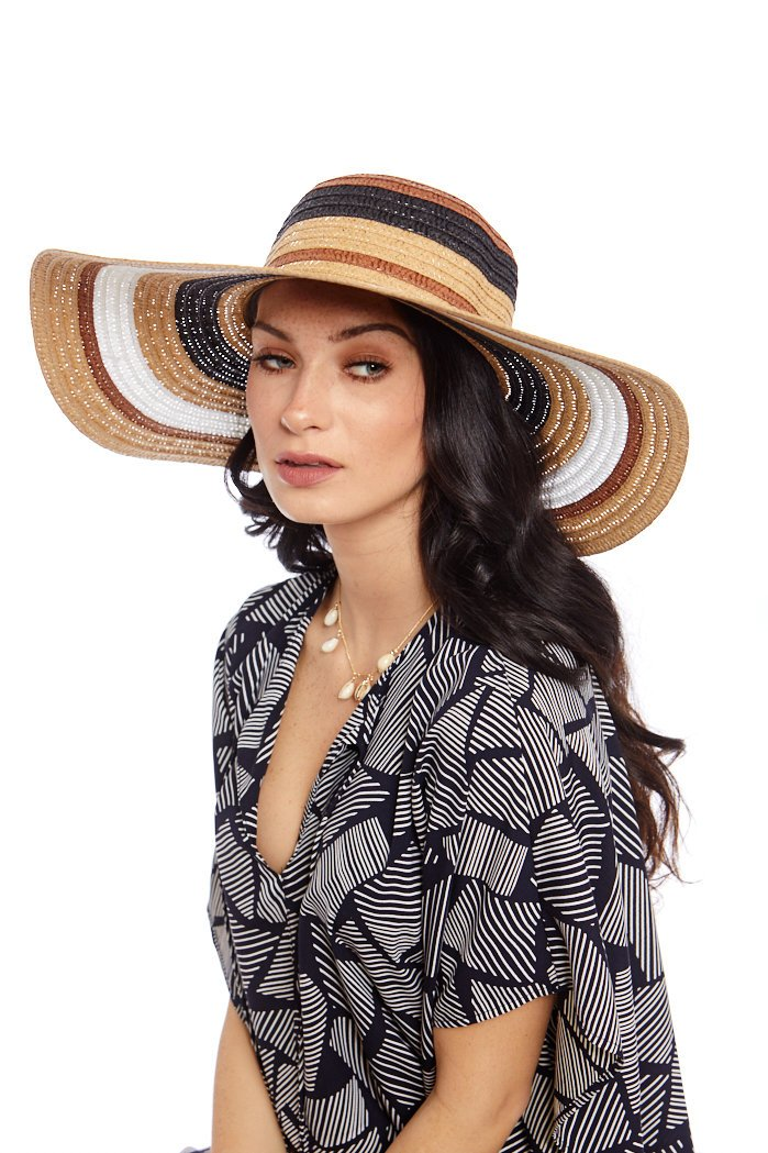 fab'rik - Multi Color Straw Sun Hat ProductImage-7735979147322