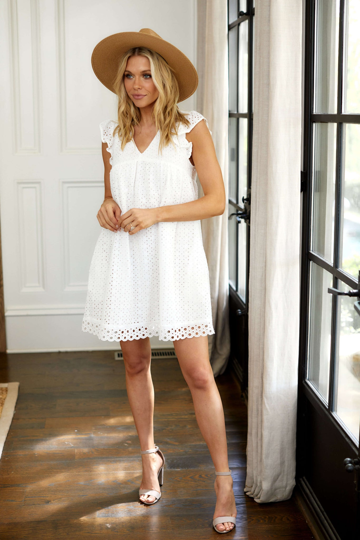 fab'rik - Baker Eyelet Mini Dress ProductImage-13730054012986