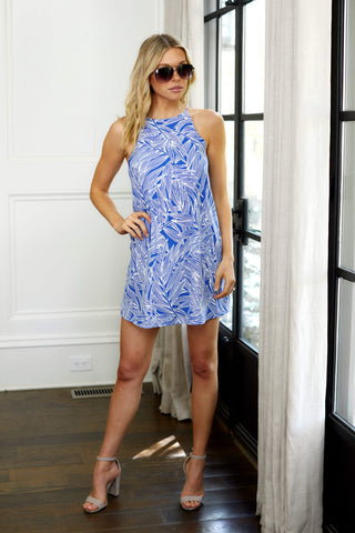 Vivianne Sleeveless Printed Dress