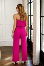 Load image into Gallery viewer, SALE - Sabrina Strapless Jumpsuit