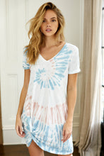 Load image into Gallery viewer, Z Supply Tie Dye Side Knot Dress