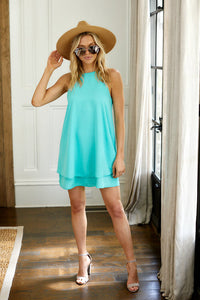 Senna Sleeveless Swing Dress