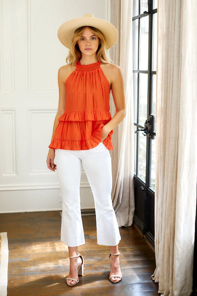 fab'rik - Calla Sleeveless Tiered Blouse image thumbnail