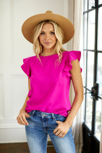 Willow Short Sleeve Solid Blouse