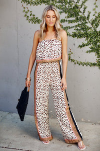 PreOrder Angie Leopard Print Jumpsuit