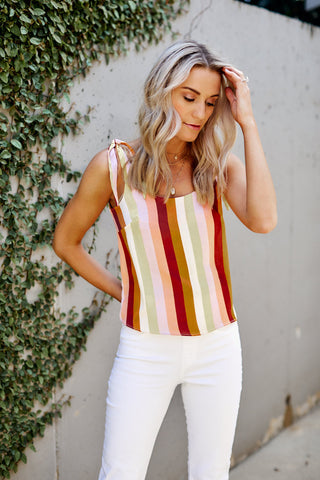 Fletch Ayla Stripe Tank Top