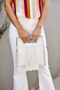fab'rik - Studded Fringe Handbag ProductImage-7788704759866