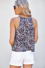 Load image into Gallery viewer, Jazzlyn Cheetah Printed Tie Front Blouse