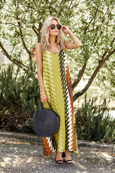 fab'rik - Taylor Printed Maxi Dress image thumbnail