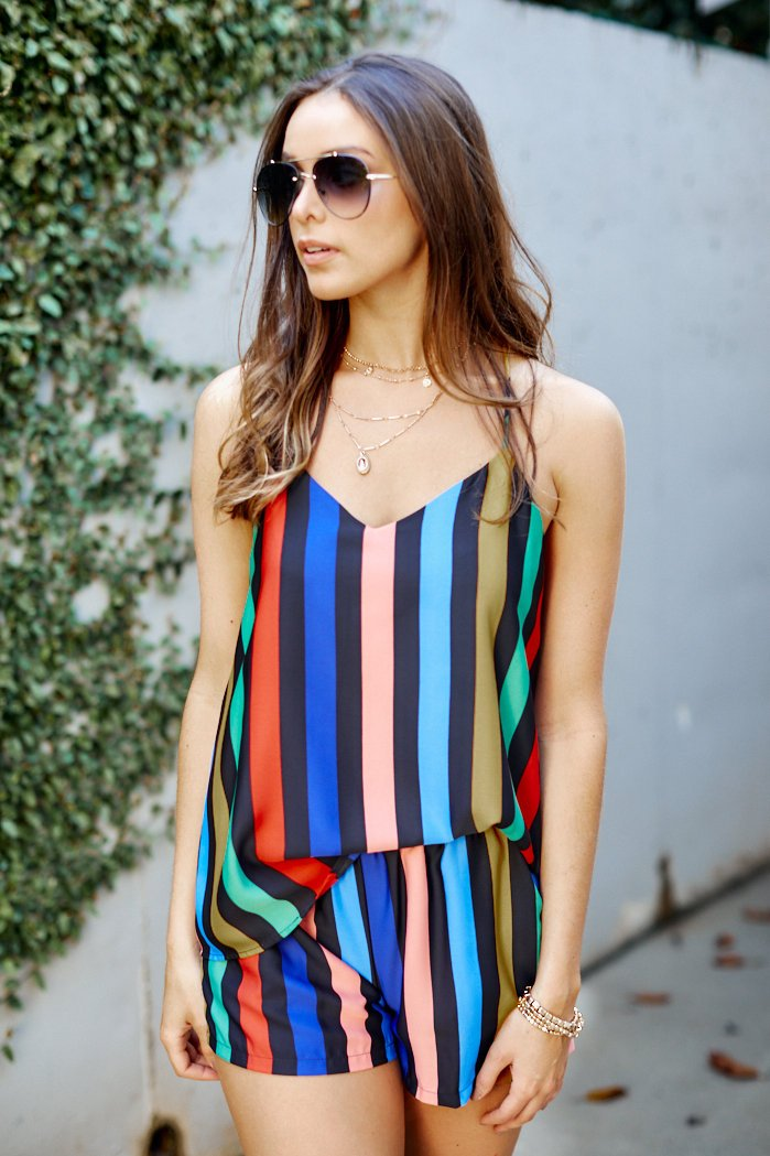fab'rik - Nina Rainbow Stripe Tank ProductImage-7834571276346