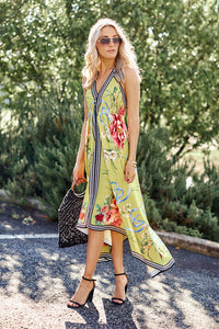 Lena Handkerchief Maxi Dress