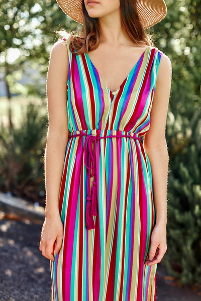 fab'rik - BB Dakota in the Rainbows Maxi Dress image thumbnail