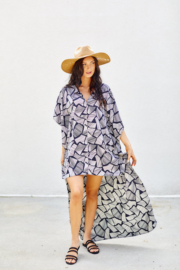 Emily Printed Swim Cover Up