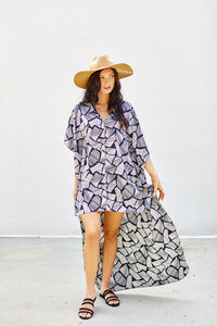 fab'rik - Emily Printed Swim Cover Up ProductImage-7886885257274