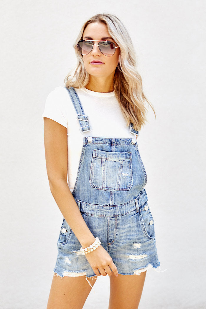 fab'rik - Blank NYC Distressed Short Overalls ProductImage-7886911864890