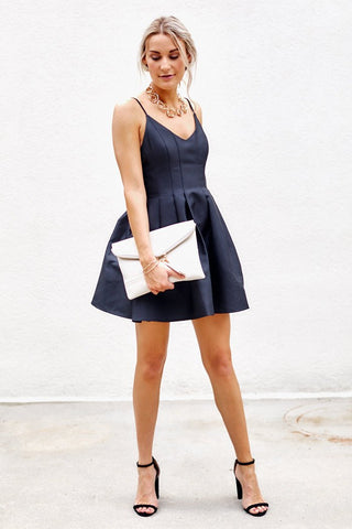 Rachel Fit and Flare Mini Dress